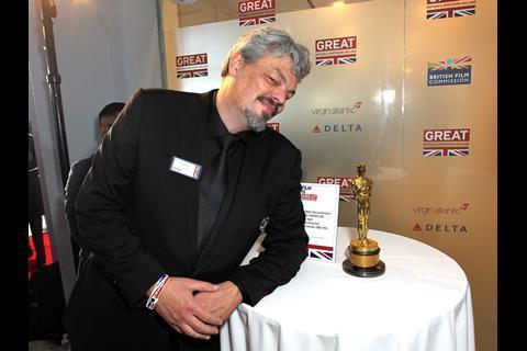 Oscar-nominated Interstellar visual effects artist Ian Hunter
